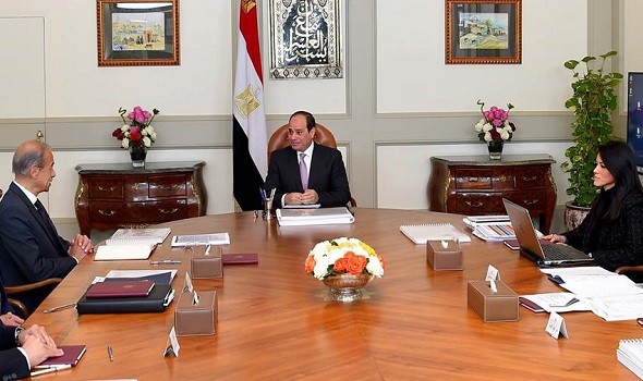 رانيا المشاط تناقش خطة التعاون القطرية مع البنك الأوروبي لإعادة الإعمار