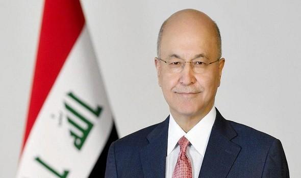 الرئيس العراقي يدعو لإنهاء الصراعات بين دول المنطقة