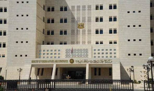 الخارجية السورية تصدر بياناً بشأن تصريحات تشاووش أوغلو عن مفاوضات تجريها أنقرة معها