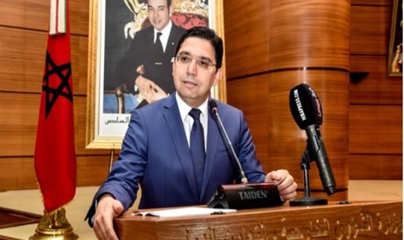 العرب اليوم - وزير الخارجية المغربي يجري اجتماعاً افتراضياً مع مسؤول أوروبي