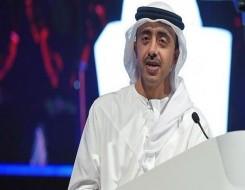 العرب اليوم - عبد الله بن زايد يؤكد دعم الإمارات لحكومة الوحدة الليبية