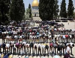 العرب اليوم - 205 مصابين في إشتباكات بين الشرطة الإسرائيلية وفلسطينيين عند المسجد الأقصى