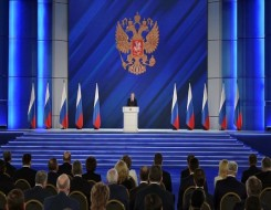 """العرب اليوم - بوتين يعلن أن روسيا سترد بقسوة على تجاوز """"الخطوط الحمر"""" وواشنطن قلقة من التصعيد العسكري"""