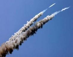 العرب اليوم - ألوية الناصر صلاح الدين تقصف مدينة عسقلان برشقة صاروخية من طراز غراد