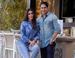 العرب اليوم - ياسمين صبري تحتفل بعيد زواجها الأول من رجل الأعمال أبو هشيمة