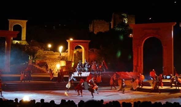 العرب اليوم - انطلاق مهرجان جرش الأردني في نسخته 35 بأوبريت وطني وحفل لماجدة الرومي