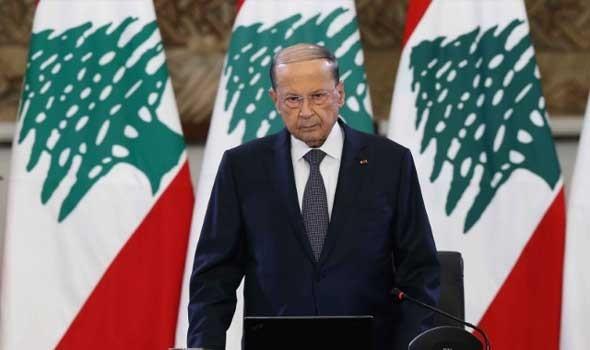 """الرئيس اللبناني ميشال عون يؤكد أنه لا يقبل أن يكون بلده """"معبرا لما يمكن أن يسيء إلى الدول العربية"""""""