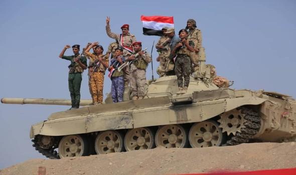 الجيش اليمني يعلن مقتل وإصابة مهاجمين من أنصار الله في معارك شمال الجوف
