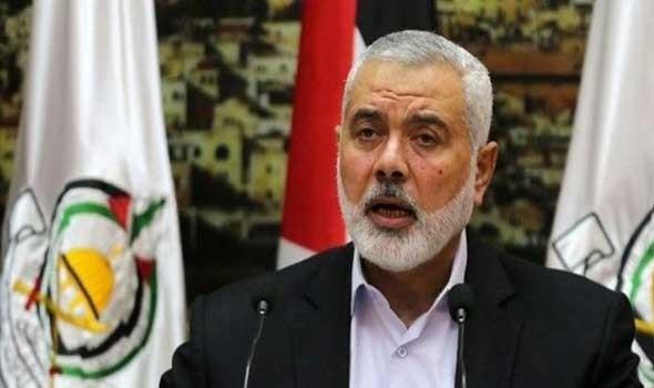 مصادر تؤكد أن حركة حماس تعيد إنتخاب إسماعيل هنية رئيسا لمكتبها السياسي