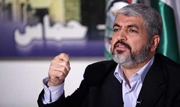مشعل يعلن شروط حماس لوقف التصعيد وكشف عن دور مصري تركي قطري لاحتواء الحرب الدائرة