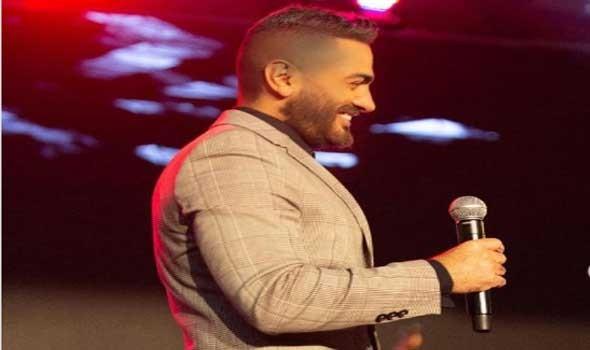 ديو غير متوقع بين تامر حسني وآيتن عامر لأغنية عيونه دار