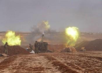 العرب اليوم - الجيش السوري يقصف محيط قاعدة تركية في إدلب