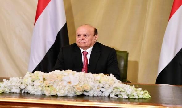 العرب اليوم - الرئيس اليمني يؤكد أن إيران تقف وراء التشدد الحوثي في رفض إيقاف الحرب