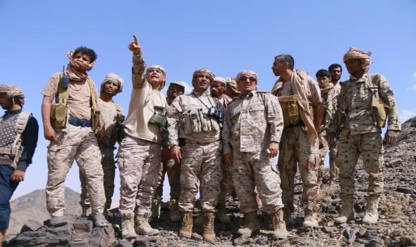 العرب اليوم - تدمير مواقع حوثية بمدفعية الجيش اليمني وطيران التحالف غرب مأرب