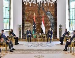 """العرب اليوم - المنفي يبحث مع أعيان مصراتة وزليتن """"لم الشمل"""""""