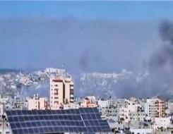 العرب اليوم - قوات الاحتلال تقصــف أبراج الشيخ زايد شمال قطاع غزة