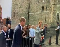 العرب اليوم - الأمير هاري وزوجته يجتمعان مجددا بأوبرا وينفري