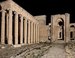 العرب اليوم - العلماء الروس يعملون على إنقاذ أقدم المعابد السورية باستخدام تقنيات عالية