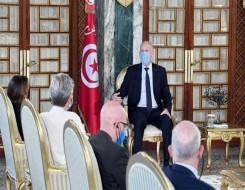 العرب اليوم - قيس سعيد يؤكد رفضه بأن تكون تونس تحت أي وصاية