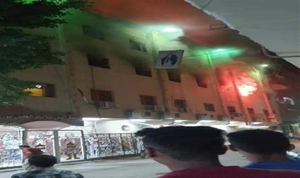 الكشف عن أسباب الحريق الضخم في كنيسة ماري مينا المصرية