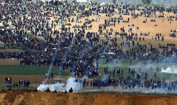 العرب اليوم - إستمرار المواجهات في باحات الأقصى وإصابات بصفوف الفلسطينيين عقب اقتحام القوات الإسرائيلية