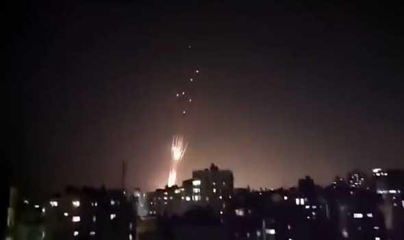 """غارات إسرائيلية عنيفة على غزة وسقوط """"البرج السادس"""""""