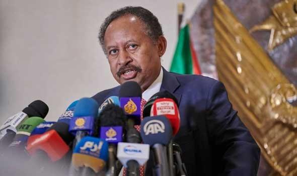 """حمدوك يؤكد أن هدف """"مبادرة حل الأزمة الوطنية"""" في السودان هو إقامة انتخابات حرة"""