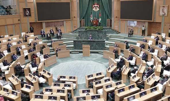 فض الدورة الاستثنائية لمجلس الأمة الأردني