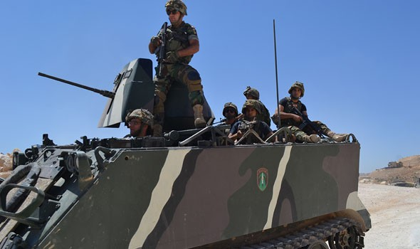 لبنان اشتباكات عنيفة بين الجيش ومجموعة من المطلوبين في بعلبك