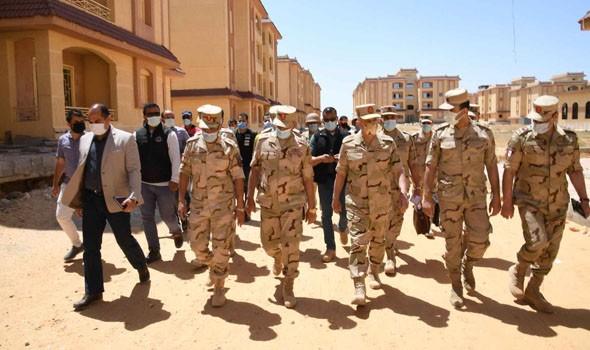 العرب اليوم - الجيش المصري يُعلن القضاء علي 13 إرهابياً خلال مواجهات في سيناء