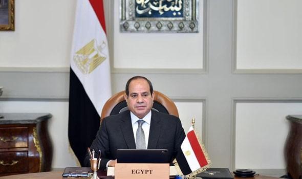 العرب اليوم - السيسي يستقبل عقيلة صالح وخليفة حفتر ويؤكد استمرار دعم ليبيا لاستعادة الأمن والاستقرار