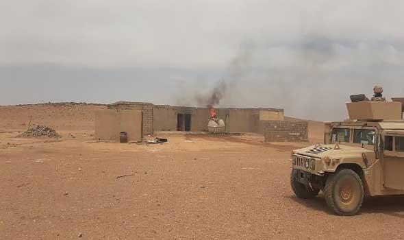العرب اليوم - الاعلام الأمني في العراق يعلن عن إحباط هجوم بالصواريخ  وهروب المنفذين