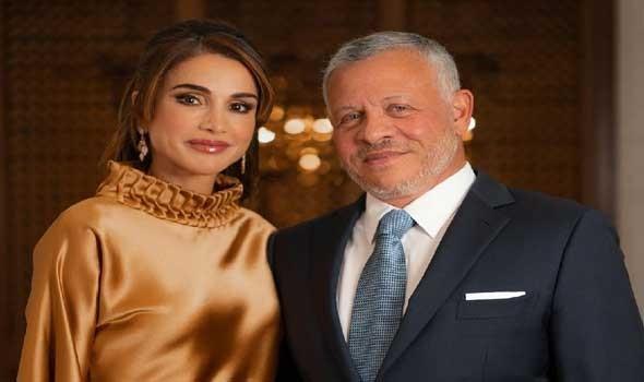 العرب اليوم - العاهل الأردني والملكة رانيا وولي العهد يصلون إلى البيت الأبيض للقاء بايدن