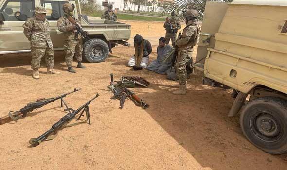 العرب اليوم - الجيش الوطني يشن غارات على مواقع لإرهابيين في جبال الهروج