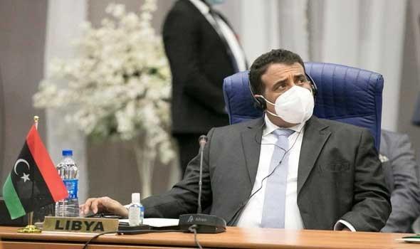 """العرب اليوم - """" الوحدة"""" الليبية تبحث مكافحة الإرهاب والمنفي يطالب بفتح الطريق الساحلي"""