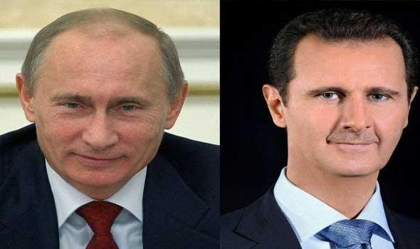"""العرب اليوم - بوتين ينتقد القوات الأجنبية """"غير الشرعية"""" في سوريا خلال لقائه بالأسد"""