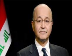 العرب اليوم - الرئيس العراقي  يؤكد أن الانتخابات هي الحل للخلل في منظومة الحكم