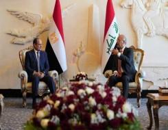 العرب اليوم - السيسي يعبر  عن أمله في أن تدشن قمة بغداد مرحلة جديدة من الشراكة