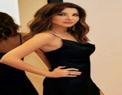 """العرب اليوم - نانسي عجرم في إطلالة جريئة بفستان أسود من تصميم """"JONATHAN SIMKHAI"""""""