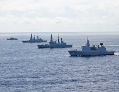 العرب اليوم - الإعلان عن أول دوريات مشتركة بين سفن حربية روسية وصينية بالمحيط الهادي