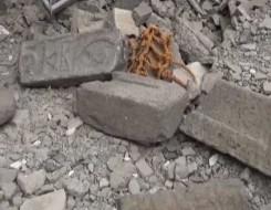 """العرب اليوم - عمال بناء يعثرون على """"حجر مقدس"""" عمر 2000 عام في روما"""