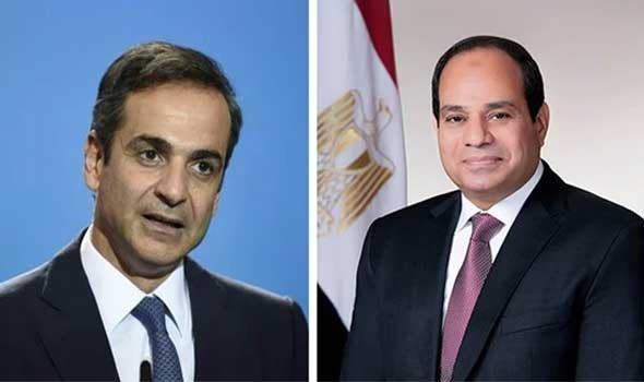 مباحثات موسعة بين مصر واليونان في كافة المجالات وتوافق مشترك على ضرورة خروج المرتزقة من ليبيا