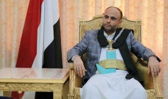 المجلس السياسي الأعلى لجماعة أنصار الله في اليمن يمدد رئاسة المشاط لمدة عام