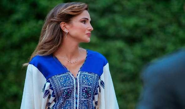 العرب اليوم - عدالة توزيع اللقاح ووضع المرأة يتصدران اهتمامات الملكة رانيا