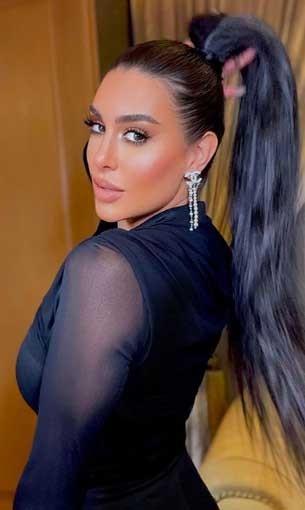 العرب اليوم - ياسمين صبري تخطف الأنظار في فستان أسود اللون