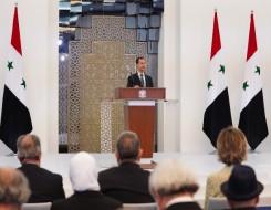 العرب اليوم - الرئيس السوري بشار الأسد و ألكسندر لافرنتييف يناقشان في دمشق التعاون بشأن عودة اللاجئين
