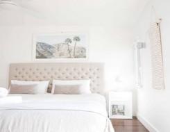 العرب اليوم - استخدامات اللون الأبيض في ديكور غرف النوم