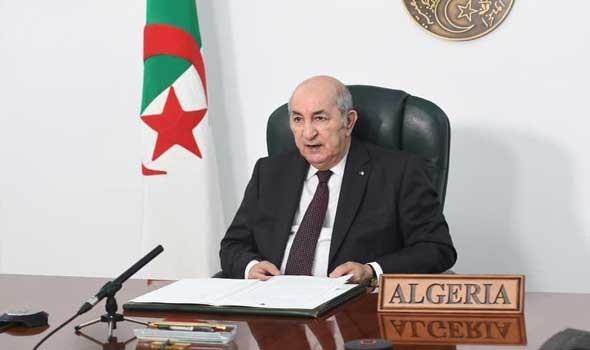 الرئيس الجزائري يقول إن بلاده تتعرض لهجمات إلكترونية كبيرة من دول الجوار