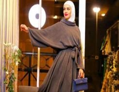 العرب اليوم - تصميمات فساتين سهرة بأكمام طويلة للمحجبات
