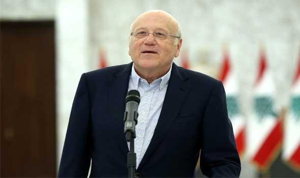 العرب اليوم - ميقاتي يؤكد وضع إعادة إعمار مرفأ بيروت ضمن أولويات الحكومة الجديدة